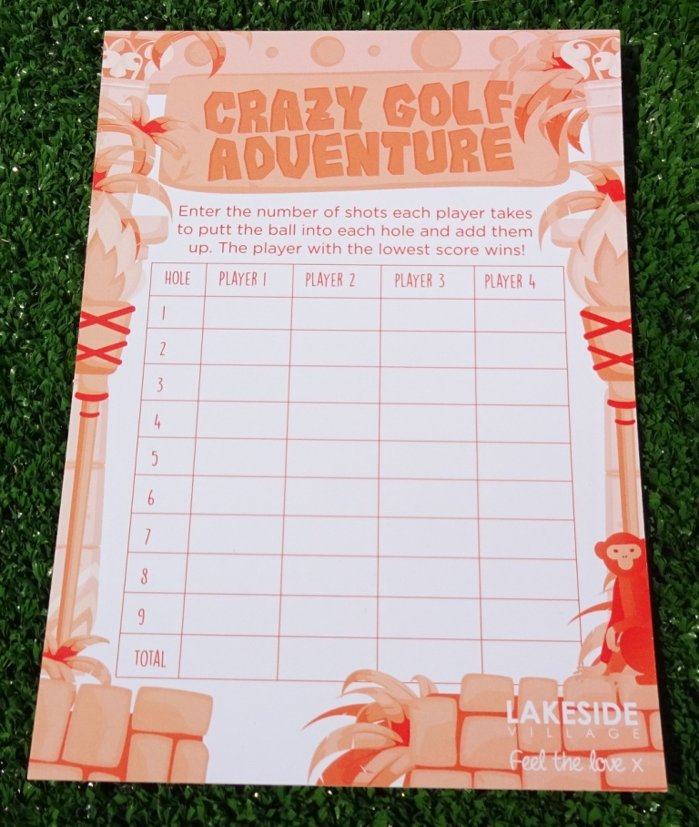 The Ham And Egger Files: Crazy Golf Adventure At Lakeside