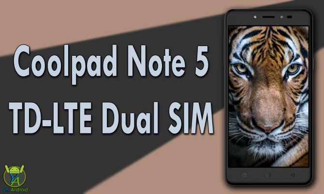 Coolpad Note 5 TD-LTE Dual SIM Full Specs Datasheet