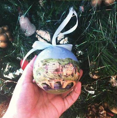 enfeite de Natal de Heidelberg