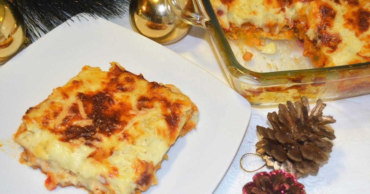 La cocina de merche borjas lasa a de pollo receta de for Cocina de aprovechamiento