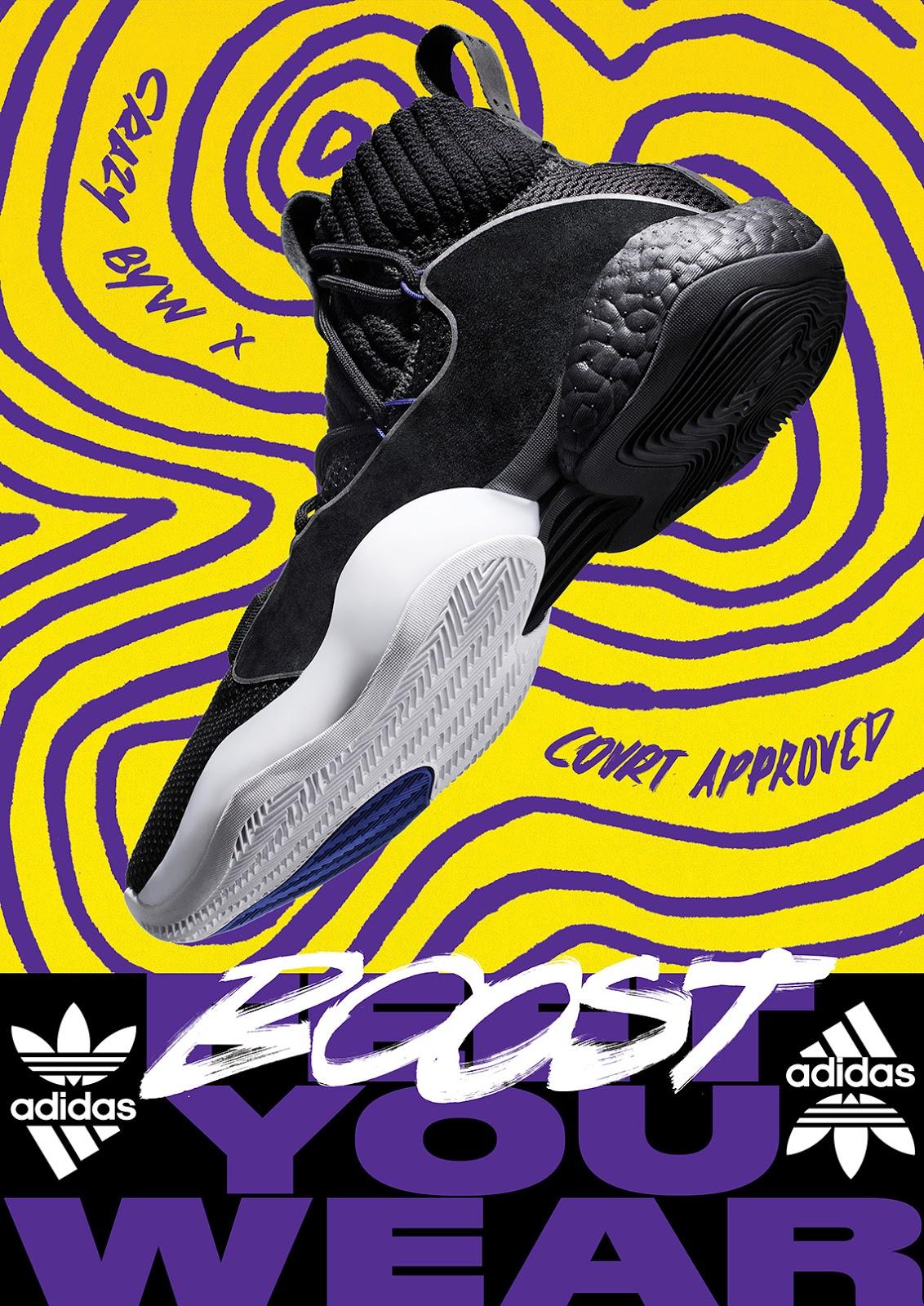 adidas Crazy BYW X  9b2239a58