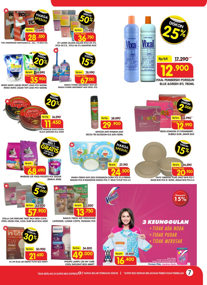 #Superindo - #Promo #Katalog Periode 14 - 20 Februari 2019
