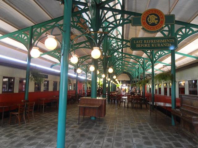 Estación del tren a Kuranda