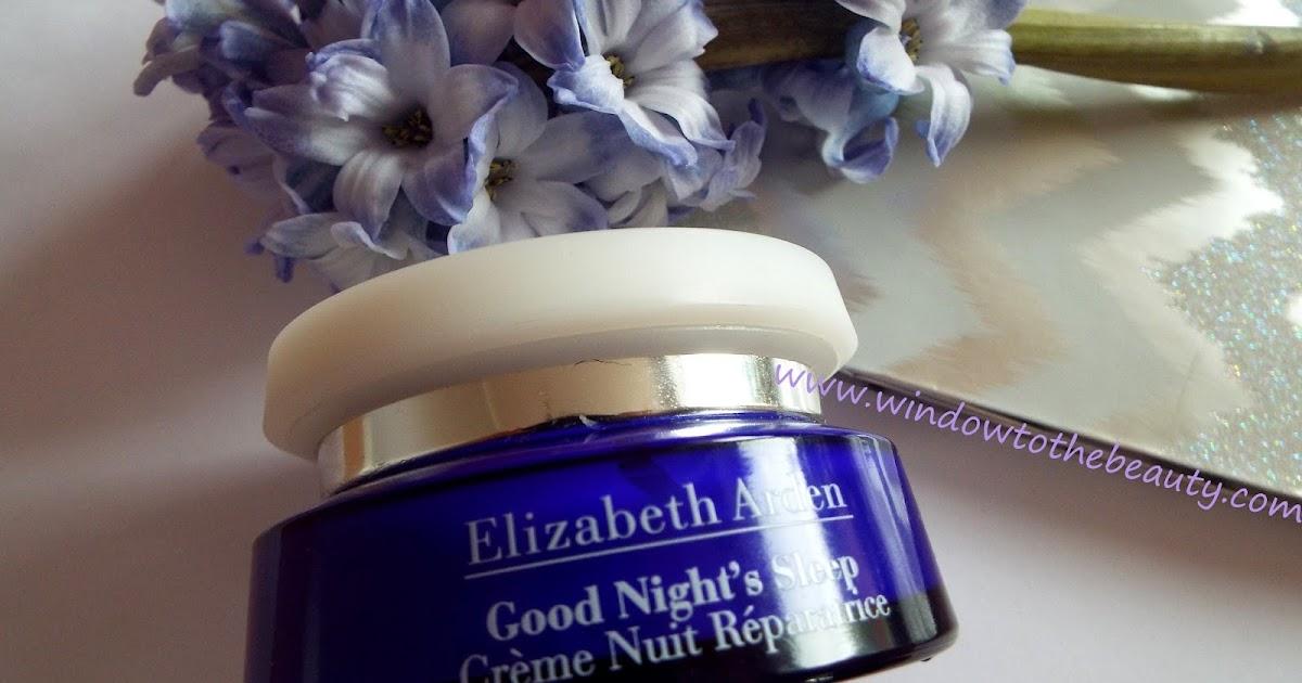 elizabeth arden good nights sleep