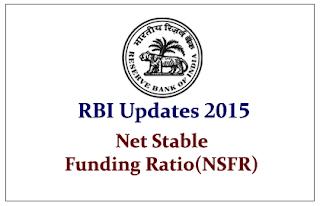 RBI Updates 2015- Net Stable Funding Ratio (NSFR)