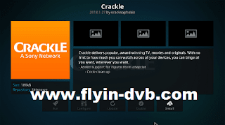 Crackle Add-ons KODI