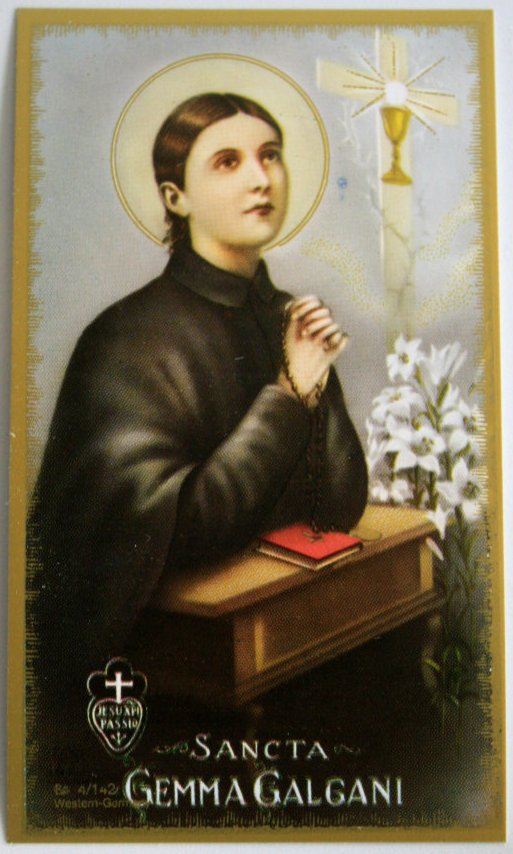 Patron saint of studying prayer