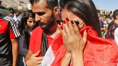 الأحزان تسيطر على شوارع دمشق بعد وداع تصفيات المونديال