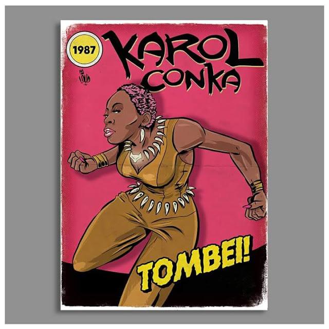 Rap em quadrinhos - Karol Conka é retratada como Vixen, heroina da DC. Comics.