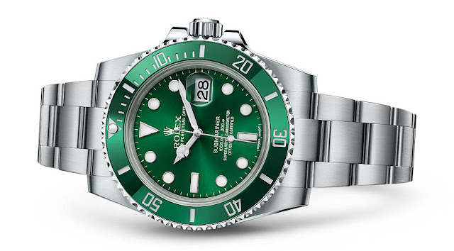 Photo of Rolex Submariner Date 'Hulk' of 'Greenie'