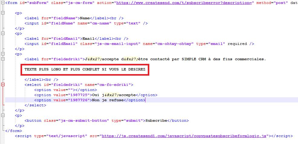 comment utiliser simple crm    comment ajouter une case  u00e0 cocher  u0026quot rgpd u0026quot  dans mon formulaire de