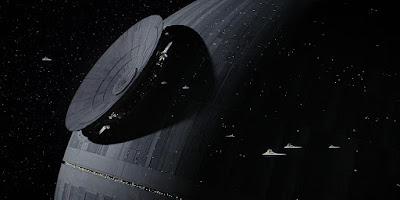 La 'Estrella de la Muerte' en un fotograma de la película 'Rogue One'