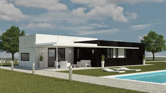 Vivienda modular de Resan con porche - Modelo Z3