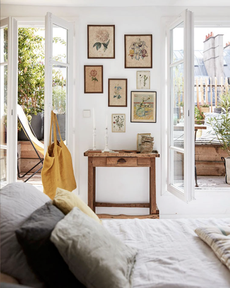 Old Meets New In A Charming Paris Home