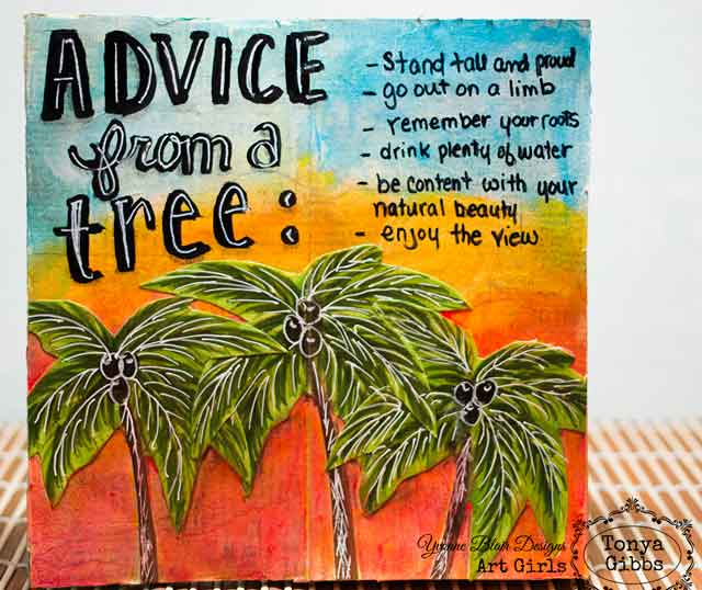 Lifes Little Details Advice From A Tree By Tonya Gibbs