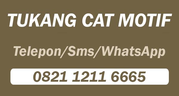 Telepon Tukang Cat Motif