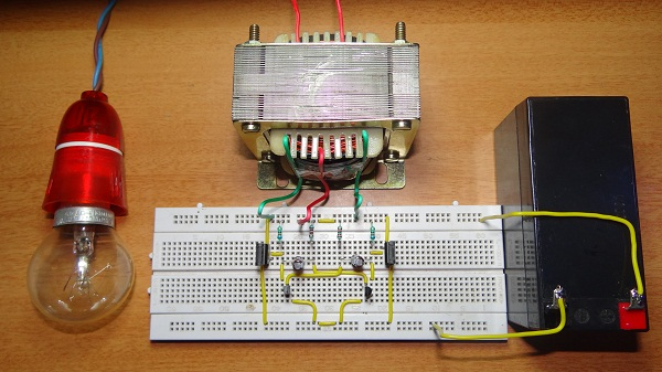 2 Cara Membuat Rangkaian Inverter 12v Ke 220 Ac Menggunakan Transistor Atau Ic 555