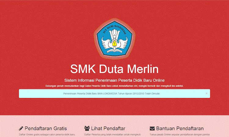 Download Source php Aplikasi PPDB Online SMA/MA/SMK