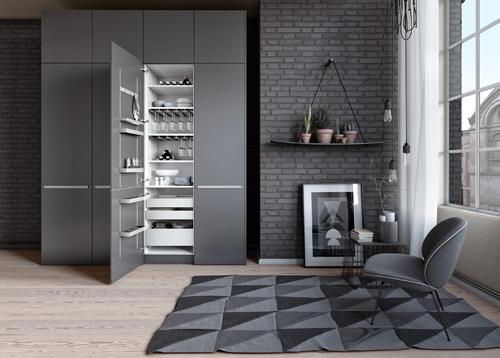 Keukenkastinrichting : Flexibele keukenkastinrichting van SieMatic ...
