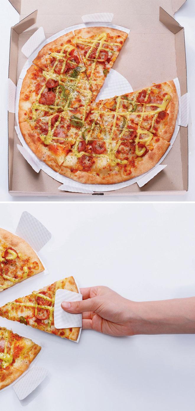 Miếng lót bánh pizza tránh bẩn tay