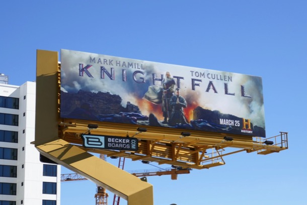 Knightfall season 2 billboard
