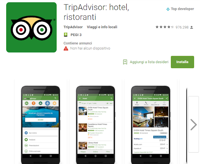 TripAdvisor App Android