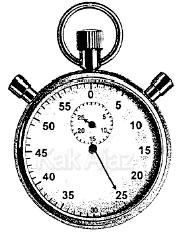 Cara mengukur waktu tempuh dengan stopwatch