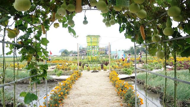 Rekreasi ke Taman Ponggok Banjarsari