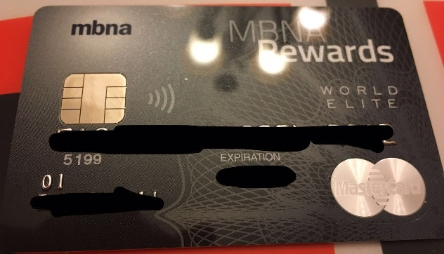 Mbna ca rewards