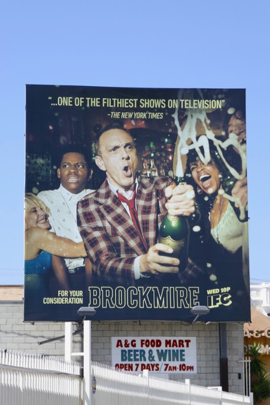 Brockmire season 2 Emmy FYC billboard