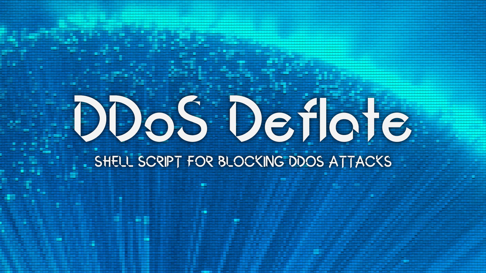 DDoS Deflate - Simple Shell Script For Blocking DDoS Attacks