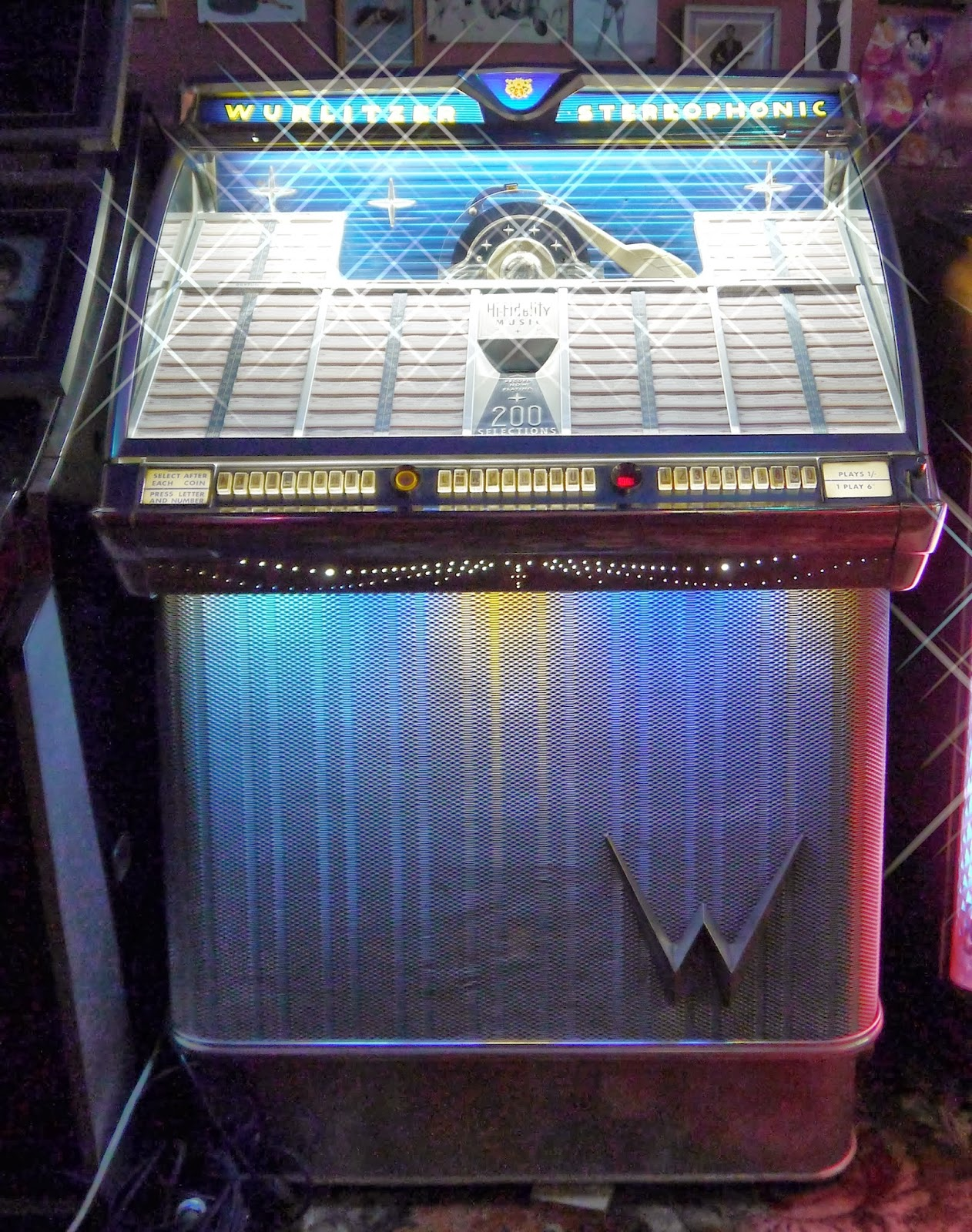 'Wurlitzer 2300' 1959 Jukebox
