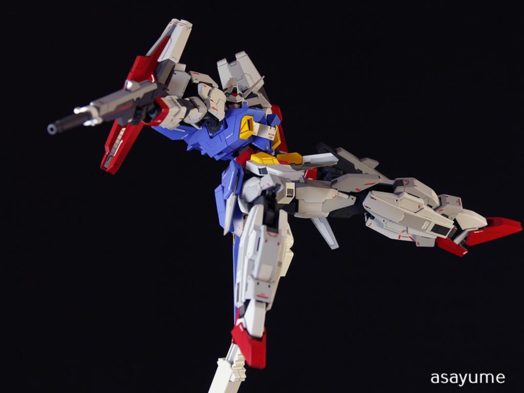 Custom Build: MG 1/100 Gundam AGE-2DB Double Bullet