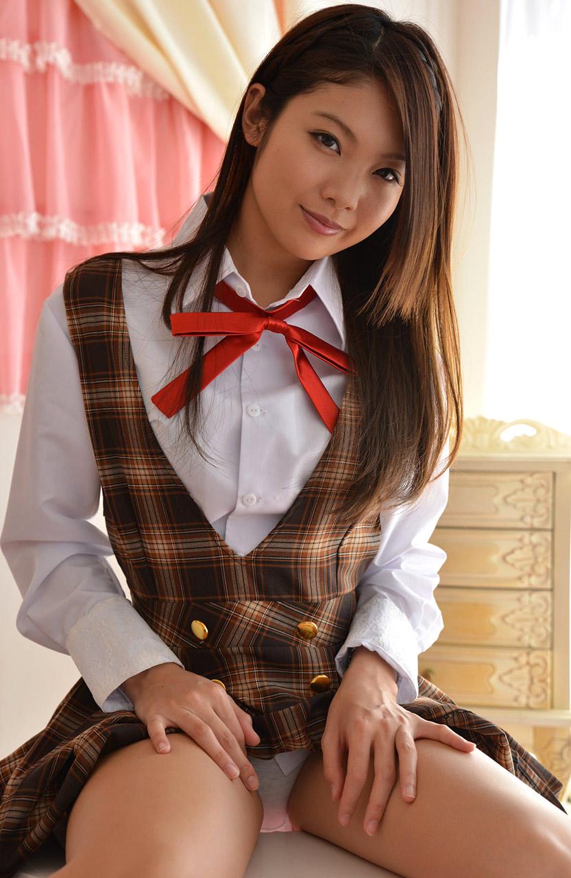 tsukasa kanzaki sexy highschool cosplay 01