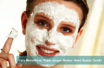 Cara Memutihkan Wajah dengan Masker Alami Buatan Sendiri