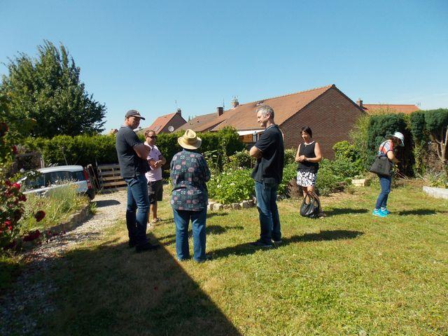Un nouveau groupe envoyée par la FREDON pour découvrir la permaculture