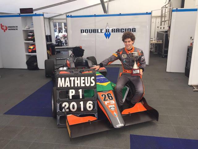 Matheus Leist é campeão da Fórmula 3 Britânica