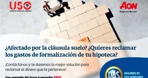 Fep uso canarias nuevo servicio jur dico afiliad s for Reclamacion clausula suelo acuerdo previo