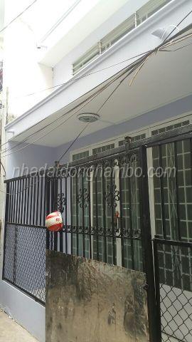 Bán nhà hẻm đường Phạm Thế Hiển phường 7 quận 8, DT 4x11m