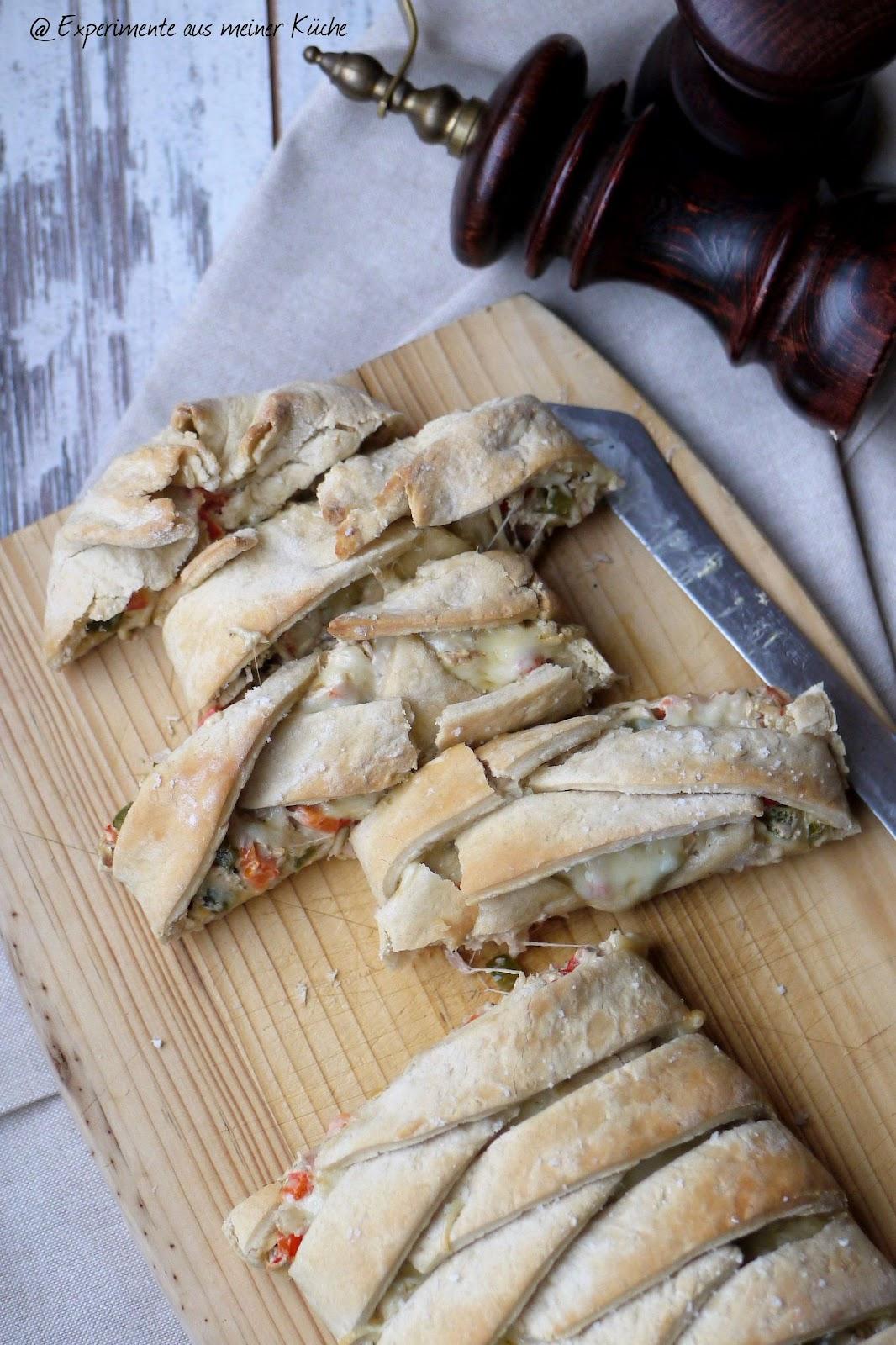 aus meiner Küche: Stromboli mit Thunfischfüllung