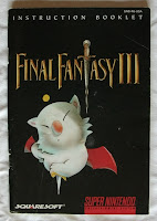 Final Fantasy VI - Manual portada