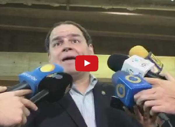 Prohiben salida del país al diputado Luis Florido