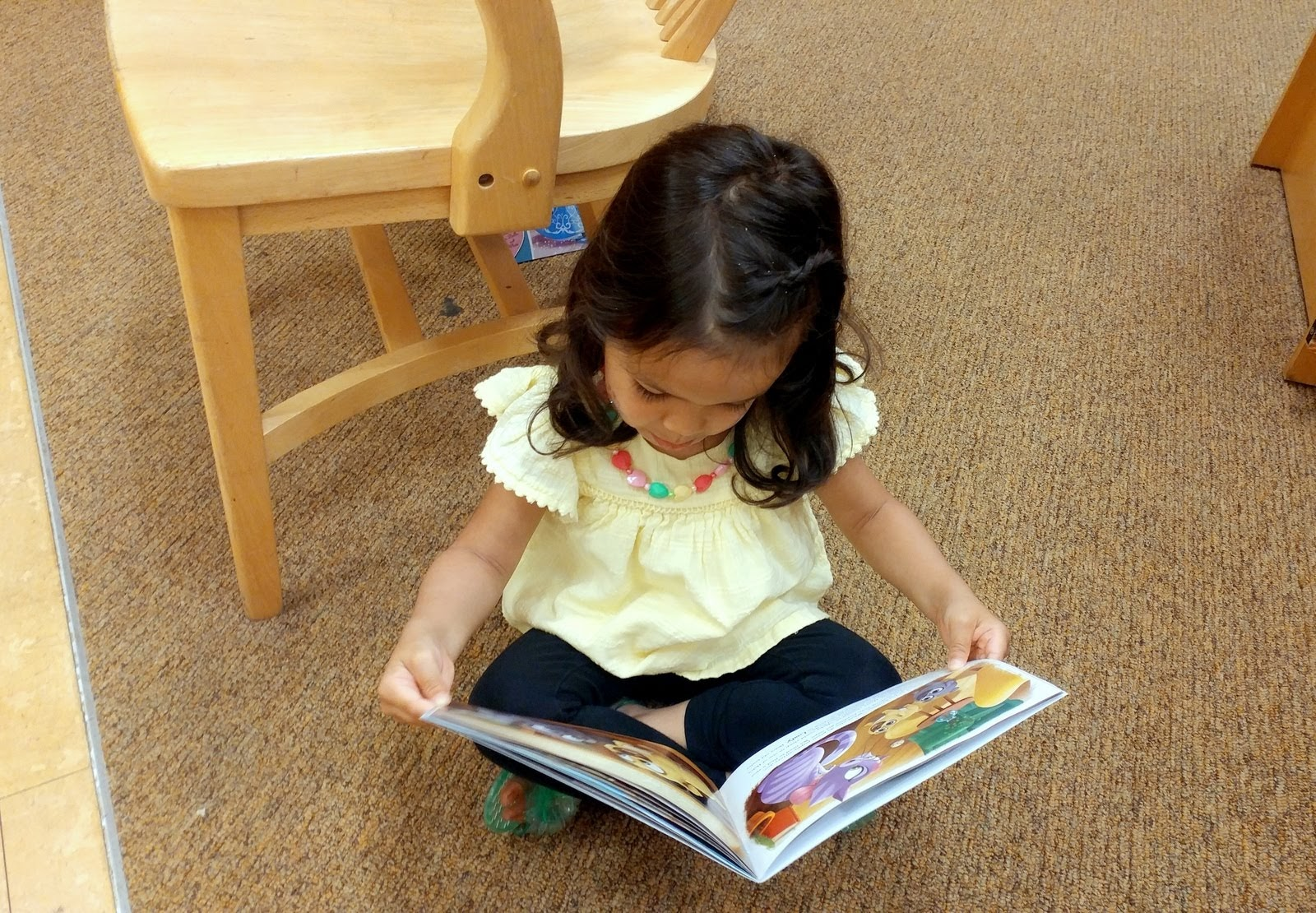 Little Bookworm Loves to Read | Taste As You Go