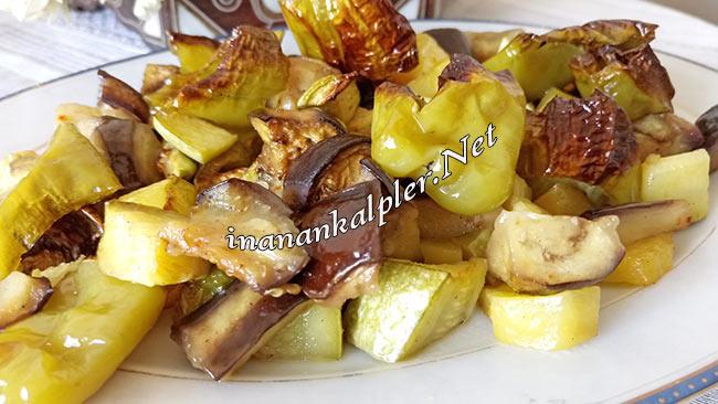 Fırında Sebze Kızartması - www.inanankalpler.net