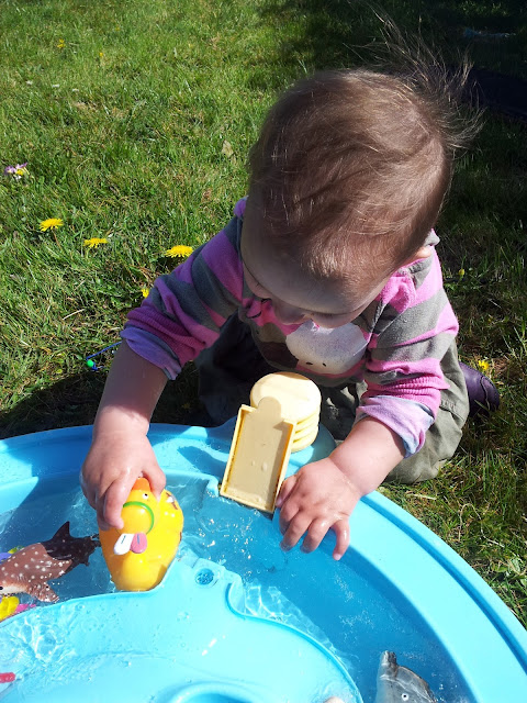 Matilda Mae's Messy Play Water Table Seaside Animals Rubber Ducky Three Little Ducks