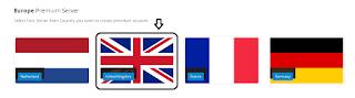 Memilik Server United Kingdom