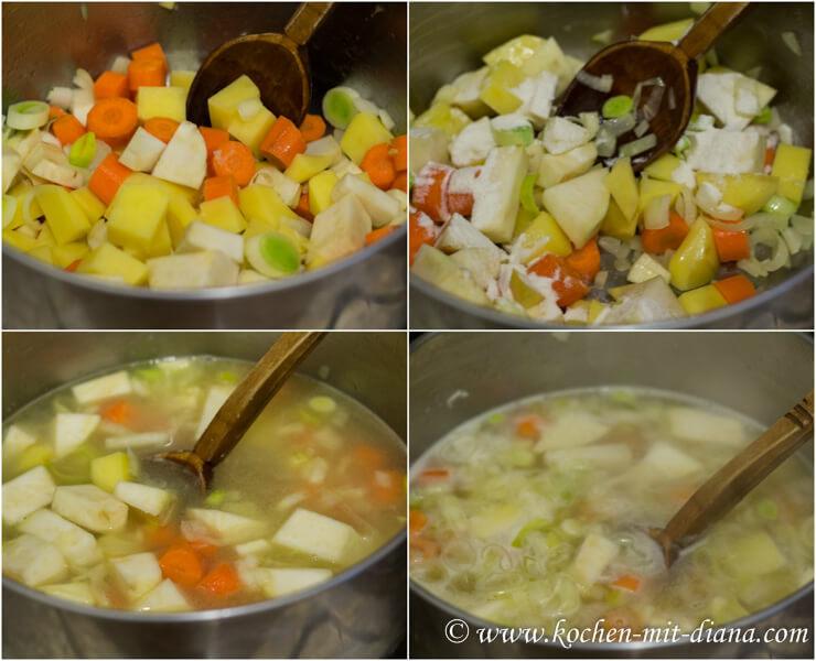 Mostsuppe kochen