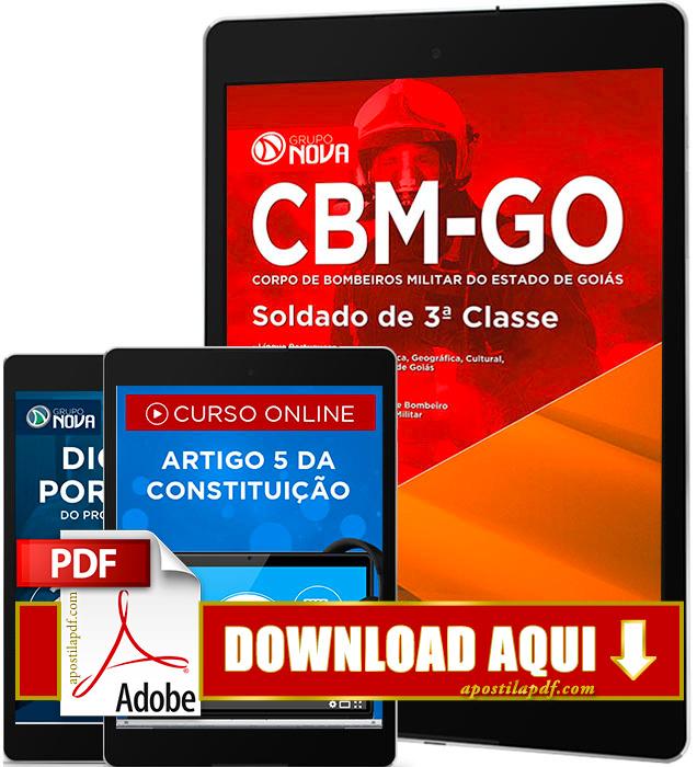 Apostila Bombeiros GO 2016 PDF Download Soldado