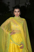 hebah patel photos in yellow ghagra-thumbnail-4