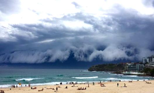 Σύννεφο, Τσουνάμι, Σίδνεϊ, Αυστραλία, Καταιγίδα, Time lapse Video, Pics 3